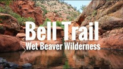 Hiking Arizona - Bell Trail, Wet Beaver Wilderness near Rimrock