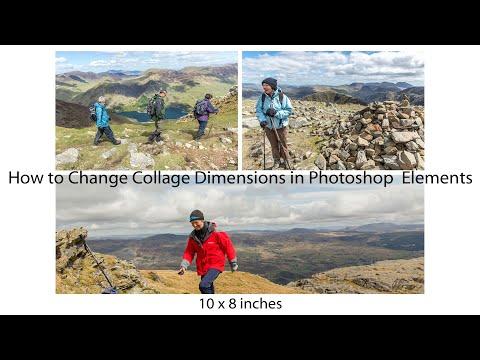 Resize Photoshop Elements Collage
