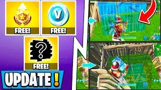 *NEW* Fortnite Update! | S10 Teasers, Building Changes, Free Vbucks & Battle Pass!