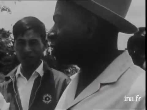 Souvenir : 1965- Houphouet dans ses plantations.