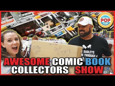 TOY HUNTING at Awesome Comic Book Collectors Show | Funko POP!s, Comic Books, and MORE!
