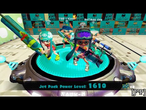 Splatoon - Hoverboards VS Jet Packs splatfest