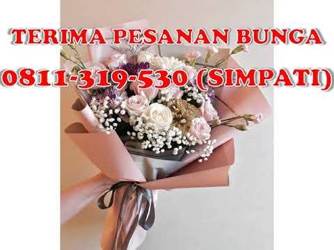 0811 319 530 Simpati Rangkaian Bunga Ultah Surabaya Youtube