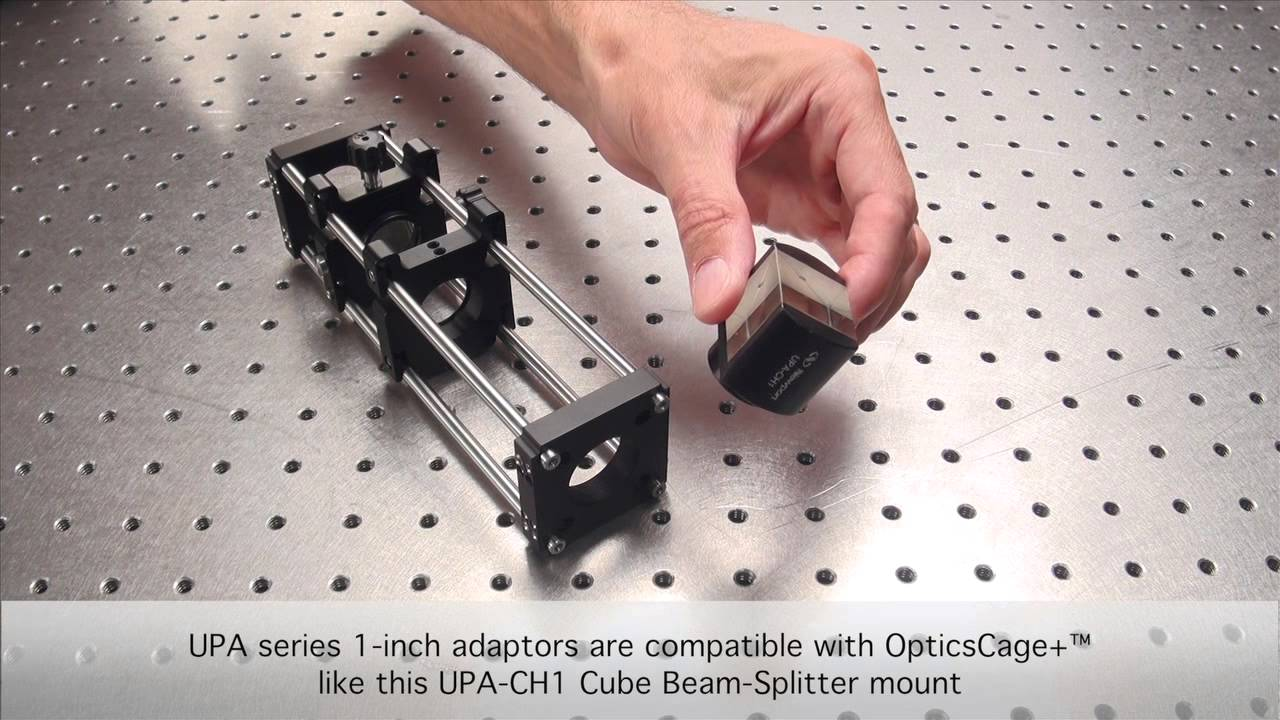 Optics Cage Plus - Optical Alignment in a Snap