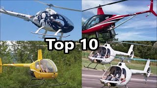Top 10 piston engine helicopters altitude performance