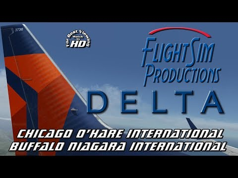 Chicago O'Hare International (KORD) - Buffalo International (KBUF) FSX