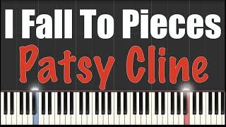 I Fall To Pieces - Patsy Cline - Piano Tutorial