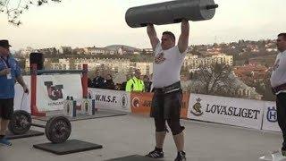 WNSF Natural Strongest Man  Esztergom 2017.03