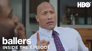 Looking for Rainmakers with Dwayne Johnson and Evan T Reilly of Ballers HBO