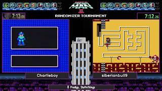 Mega Man 2 Randomizer Tournament SHOWCASE RACE 6