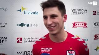 Kamil Grabara ny mand i AGF