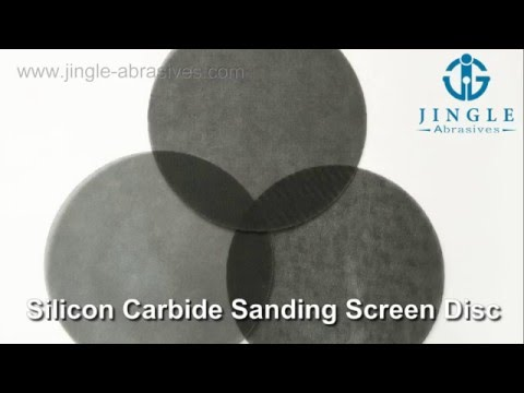 Silicon Carbide Sanding Screen Disc