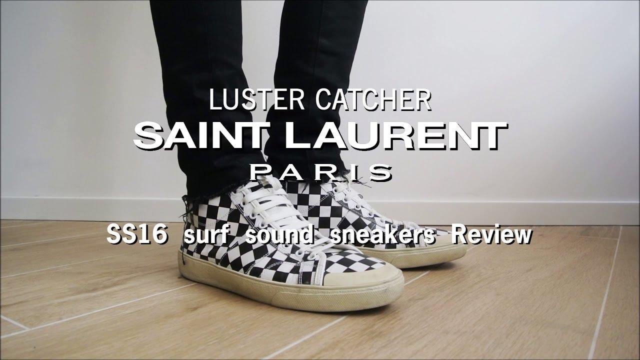 Saint Laurent SS16 surf sound sneakers