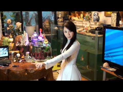 Roly Poly(T-Ara) - Helen + Ao dai 越服.wmv