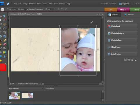 Creating CD/DVD Covers Using Photoshop Elements 7