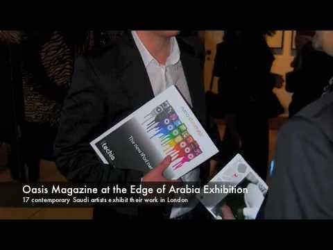 Oasis Magazine at the Edge of Arabia Exhibition
