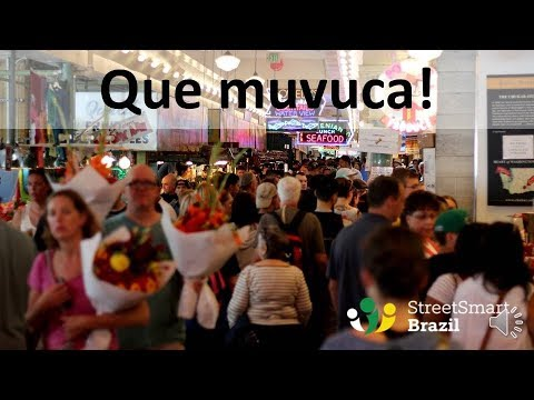 Brazilian Slang Word: Muvuca – One-word Portuguese Lesson
