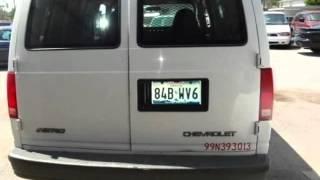 1999 Chevrolet Astro Cargo Van 111.2