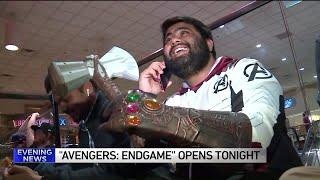 Fans flock to opening night of Avengers: Endgame