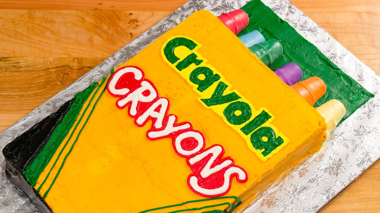 Crayola Crayons Cake (Back to School) from Cookies Cupcakes and ...