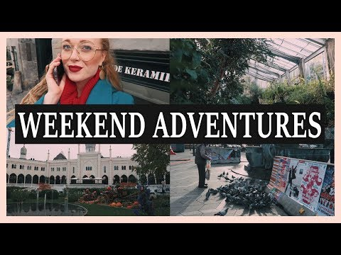 weekend adventures in Copenhagen | botanic garden & Tivoli