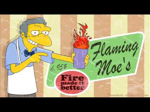 The Simpsons - flaming moe's - YouTube