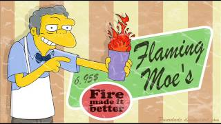 The Simpsons - flaming moe