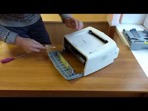 Разборка лазерного принтера Samsung ML-1710 Ремонт.