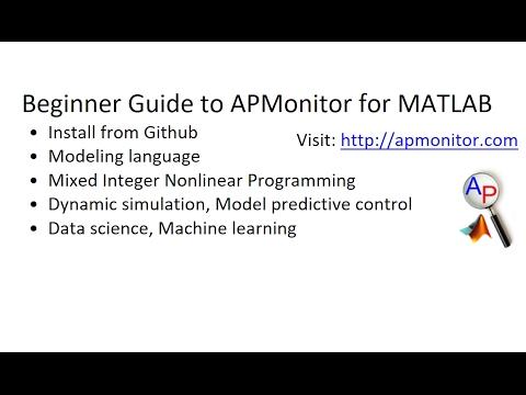 MATLAB Dynamic Optimization Toolbox | APMonitor Documentation