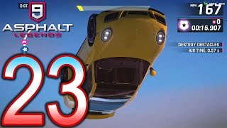 ASPHALT 9 Legends Switch Walkthrough - Part 23 - Chapter 3: Euro Rebels