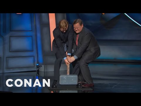 Thors Hammer Is Cluttering Up The #ConanCon Stage  - CONAN on TBS