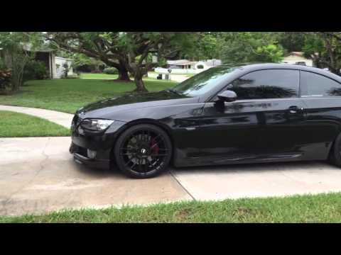 Bmw 335i coupe e92 with black 19