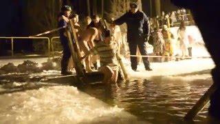 Крещение в парке 1905 года - Иваново 18.01.2016