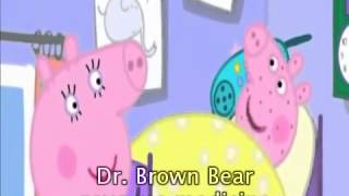 Learning english with Peppa Pig Cartoon - Not Very Well with subtitle