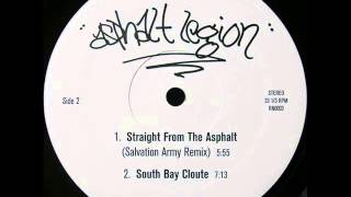 Asphalt Legion ‎- Straight From The Asphalt