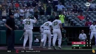 Baylor Baseball: Highlights vs. Oklahoma