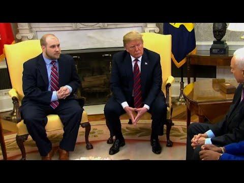 President Trump welcomes Venezuela's Juan Guaid to White ...
