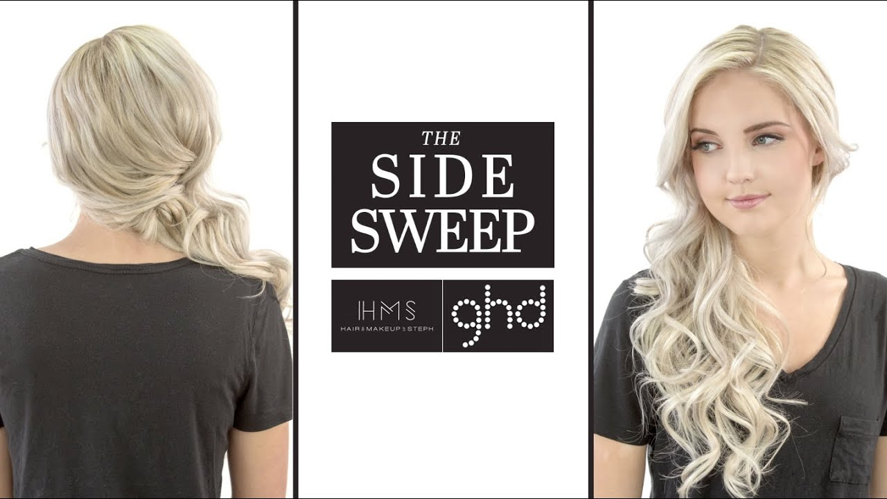 The Side Sweep Hairstyle with the GHD Platinum Styler - YouTube