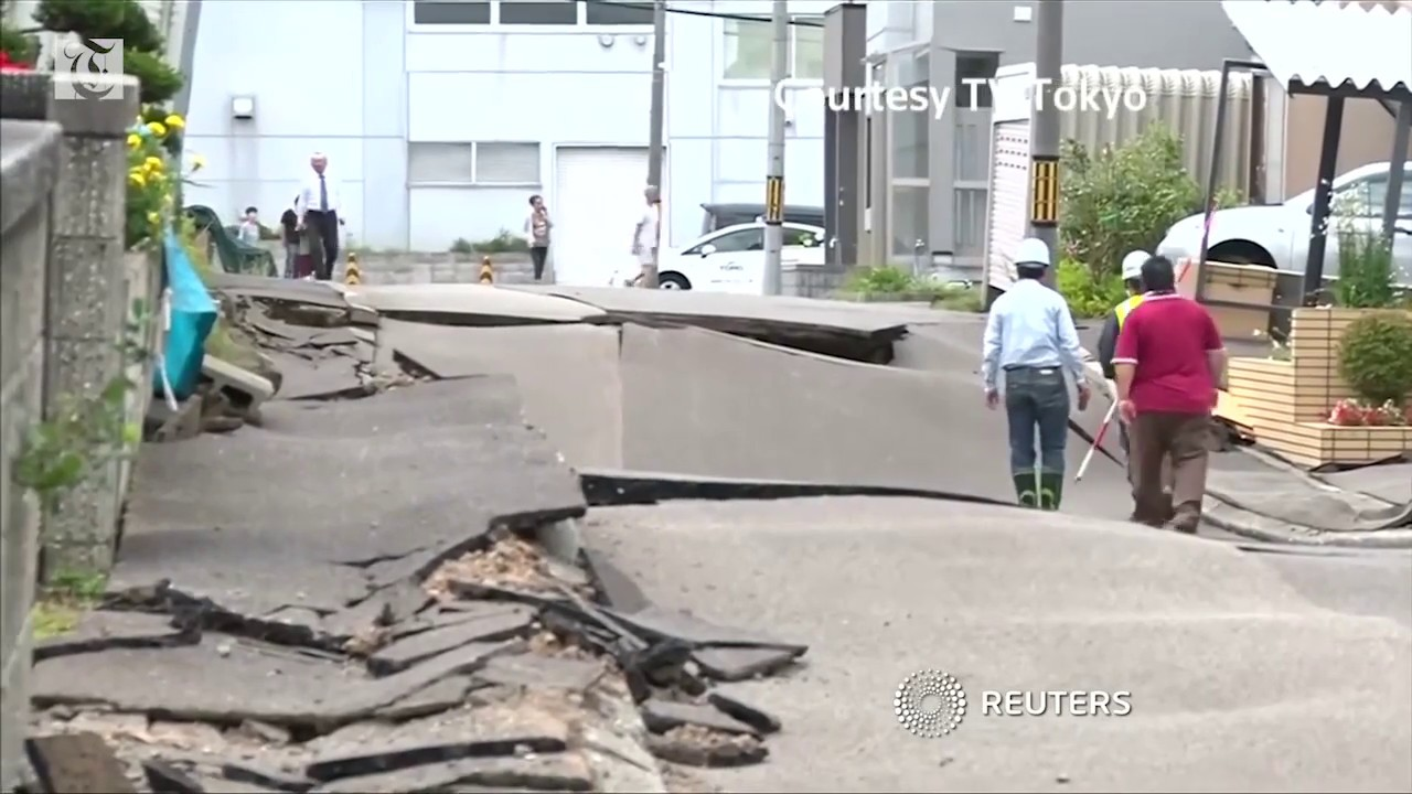 Rescuers race to find survivors after Japan quake