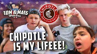 IS DIT DE ÁLLERBESTE FASTFOOD KETEN? 🤤🌮 (CHIPOTLE) | Tom & Mats in Amerika #8