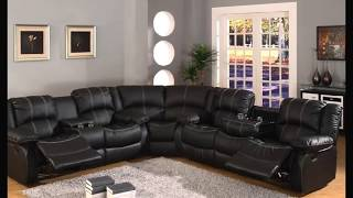 Exquisite Leather Sectional Sofas With Recliners