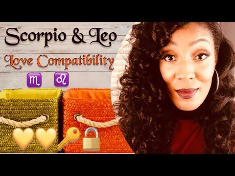 Leo male scorpio female sexuality