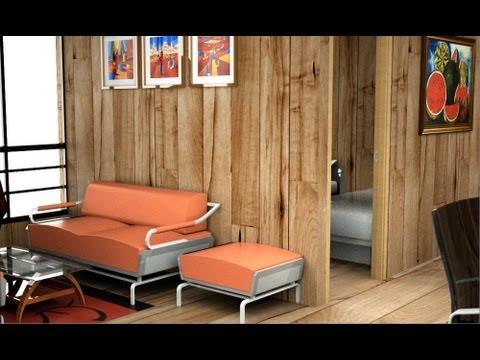 Casa de madera moderna casa prefabricada econ mica youtube - Casas madera economicas ...