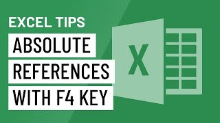 Excel Quick Tip: Absolute References with the F4 Key