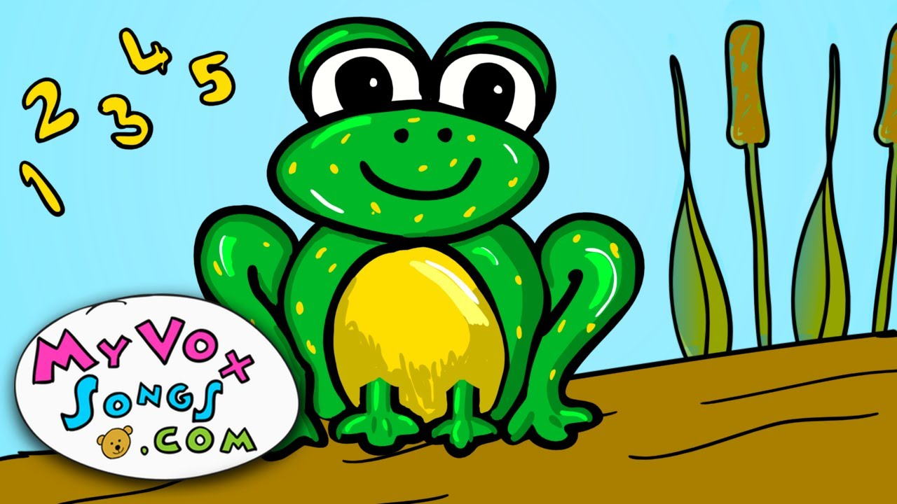 five little speckled frogs nursery rhymes youtube