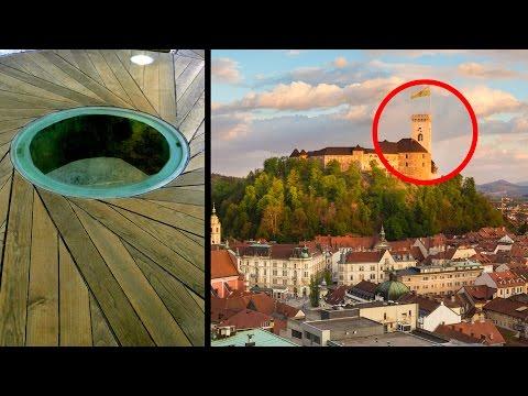 ЛУННАЯ ДВЕРЬ. ЗАМОК.  Ljubljana, Slovenia    Любляна, Словения.