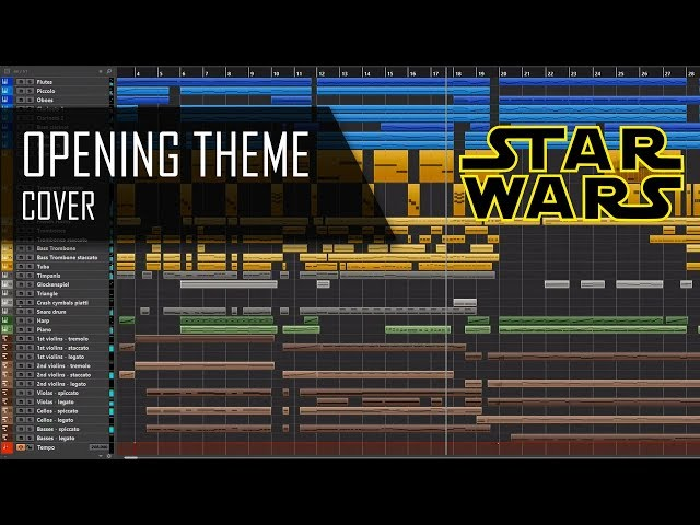 Star Wars - Opening Theme - Cover
