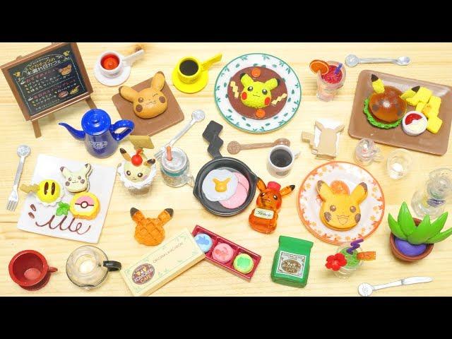 Pikachu Komorebi Cafe RE-MENT Unboxing | FULL SET