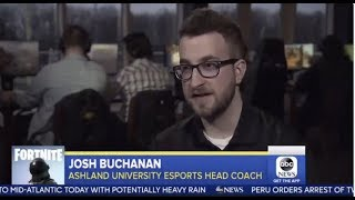 Ashland University Esports Featured on Good Morning America