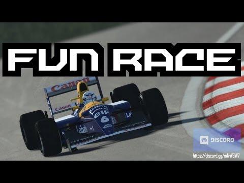 rFactor 2 - LIVESTREAM - F1 1992 Dijon-Prenois